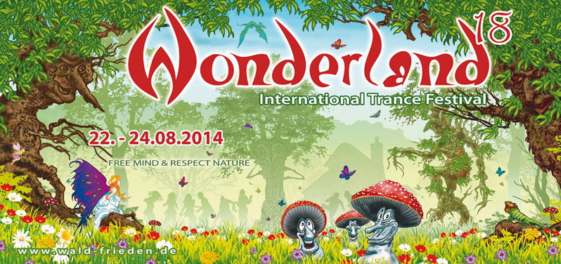 Waldfrieden – Wonderland 18 Open Air Festival 2014 – SENSIFEEL